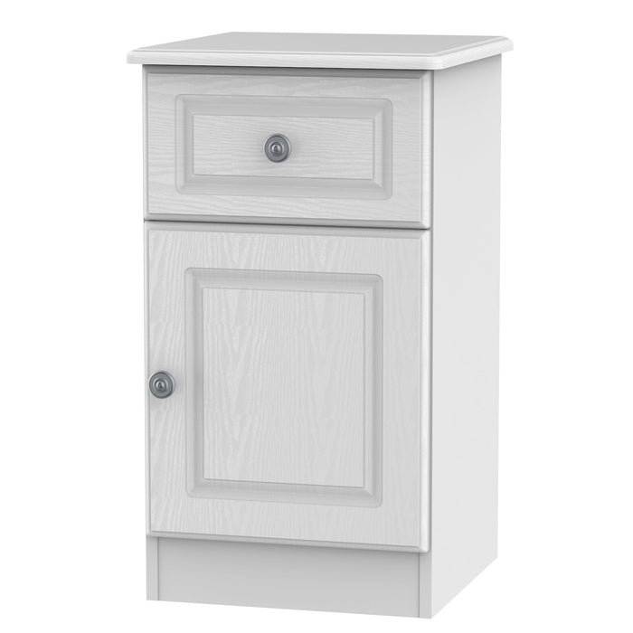 Pembroke 1 Door 1 Drawer Bedside Cabinet