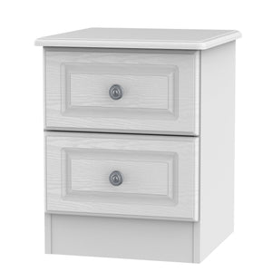 Pembroke 2 Drawer Bedside