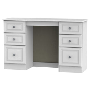 Pembroke Double Pedestal Dressing Table