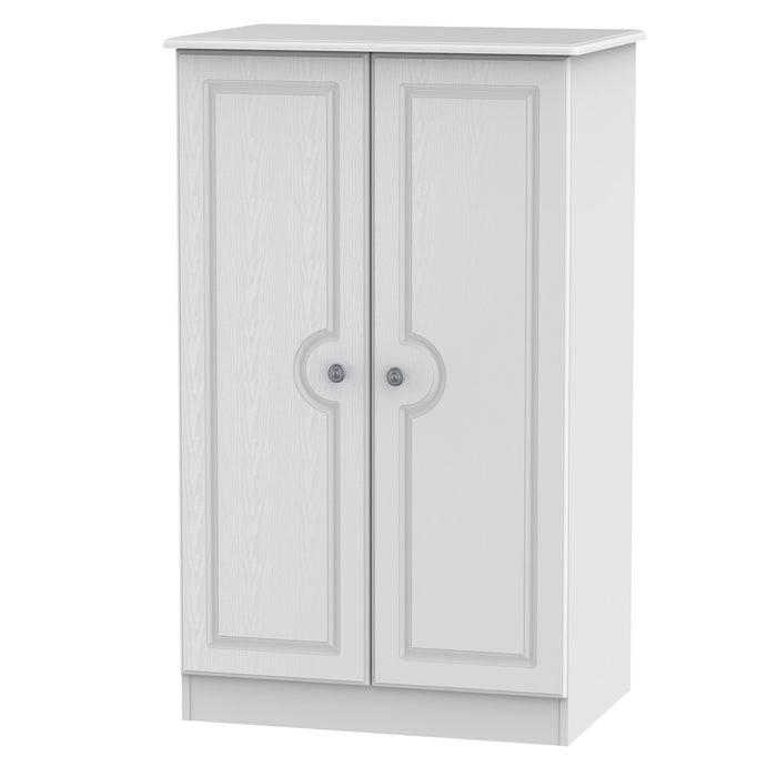 Pembroke 2 Door Plain Midi Wardrobe
