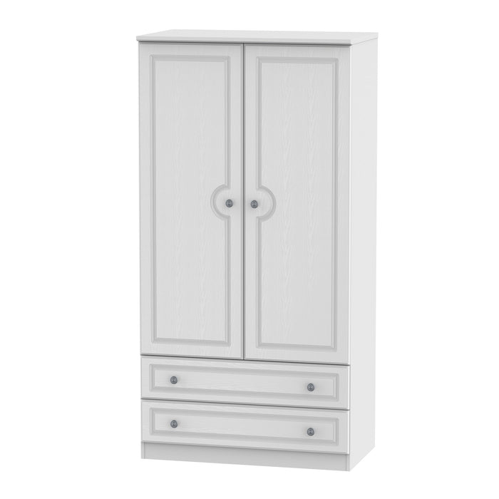 Pembroke 2 Door 2 Drawer 3ft Wardrobe