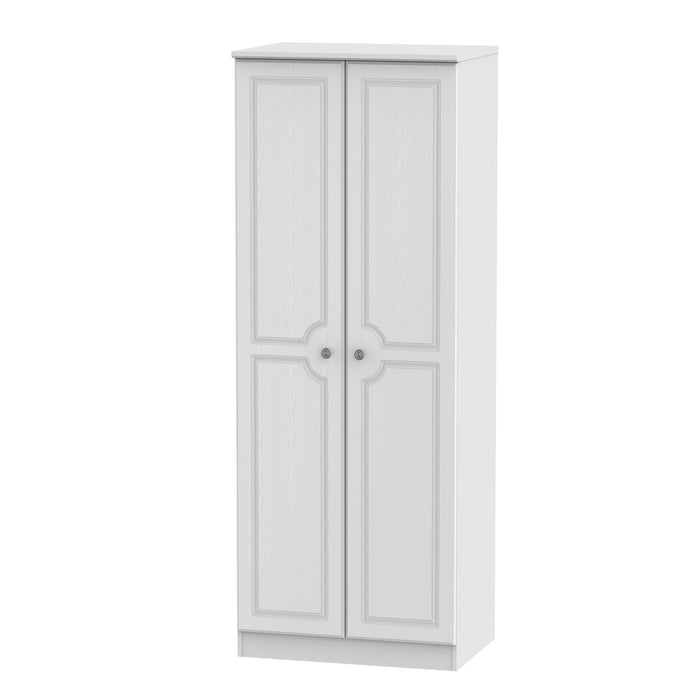 Pembroke 2 Door 2ft 6in Tall Wardrobe
