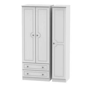 Pembroke 3 Door 2 Drawer Tall Wardrobe