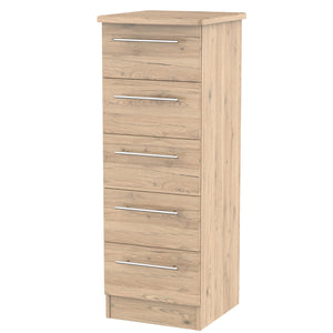 Sherwood 5 Drawer Tall Chest