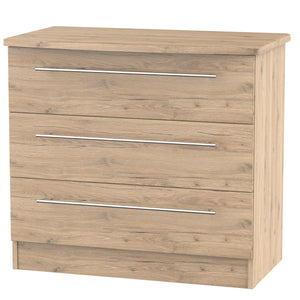 Sherwood 3 Drawer Chest