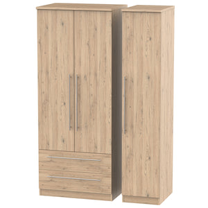 Sherwood 3 Door 2 Left Drawer Wardrobe