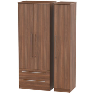 Sherwood 3 Door 2 Left Drawer Tall Wardrobe