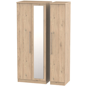 Sherwood 3 Door Tall Mirror Wardrobe
