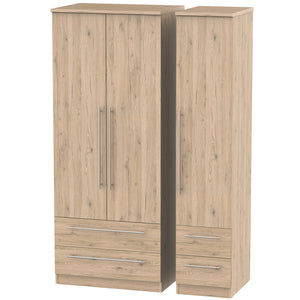 Sherwood 3 Door 4 Drawer Wardrobe