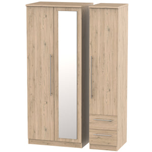Sherwood 3 Door 2 Drawer Combi Wardrobe