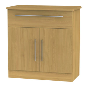 Sherwood 2 Door 1 Drawer Narrow Sideboard