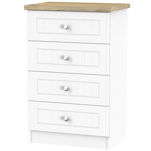 Vienna 4 Drawer Midi Chest