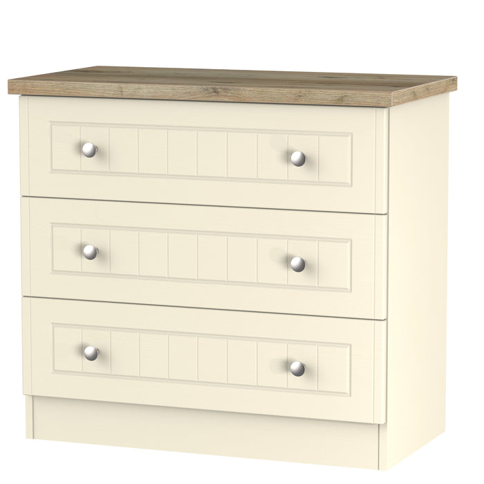 Vienna 3 Drawer Chest
