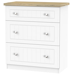 Vienna 3 Drawer Deep Chest