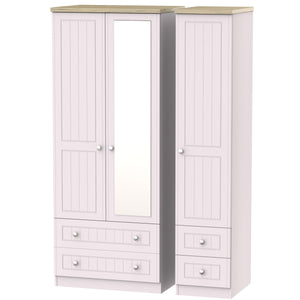 Vienna 3 Door 4 Drawer Combi Wardrobe