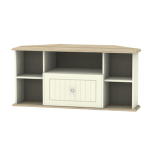 Vienna 1 Drawer Corner TV Unit