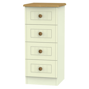 Warwick 4 Drawer Narrow Chest