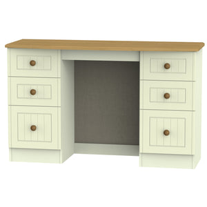 Warwick Double Pedestal Dressing Table