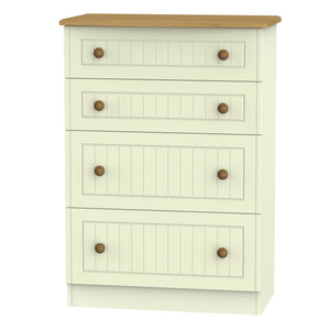 Warwick 4 Drawer Deep Chest