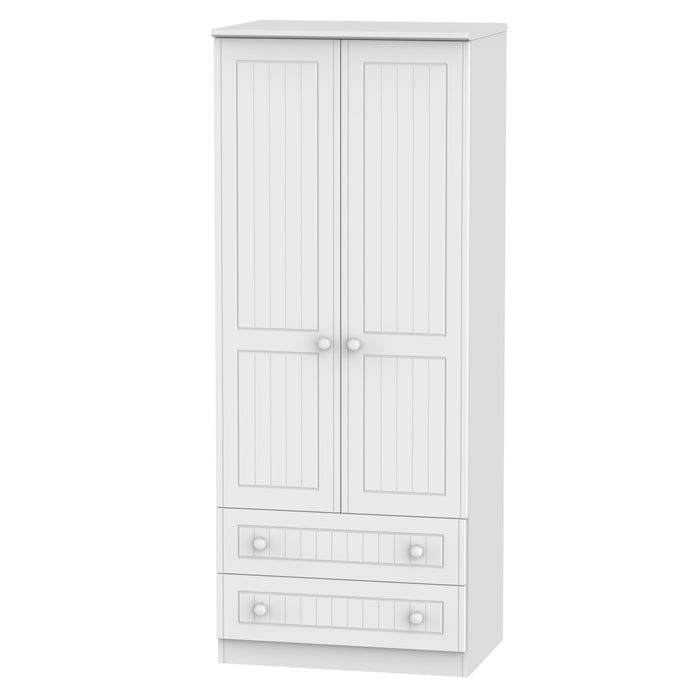 Warwick 2 Door 2 Drawer Wardrobe