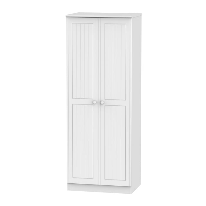 Warwick 2 Door Tall Double Hanging Wardrobe