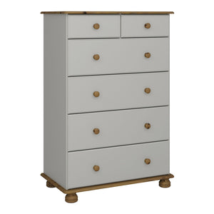 Richmond 2 + 4 Deep Chest of Drawers