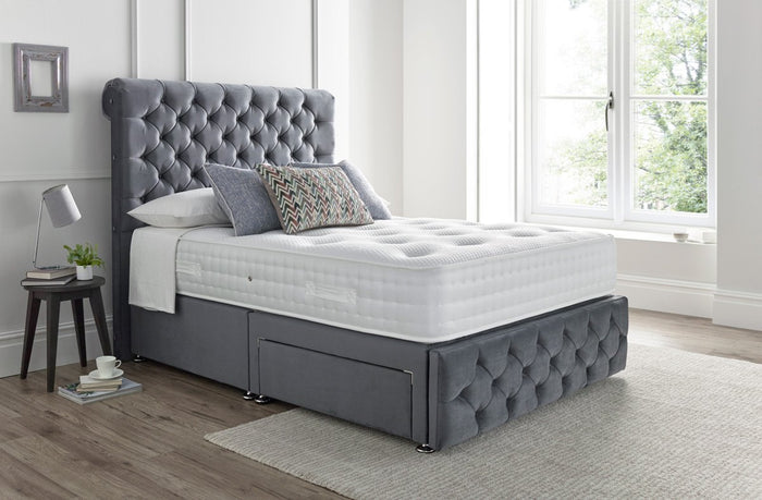 The 'Newbury' Fabric bed frame