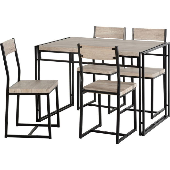 Warwick Dining Table & 4 Chairs