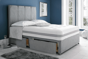 The 'Solo Memory Foam' Divan Set