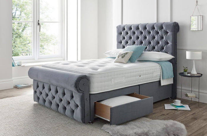 The 'Westbury' Fabric bed frame
