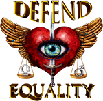 Defend Equality - Teal Blue Brown Exotic