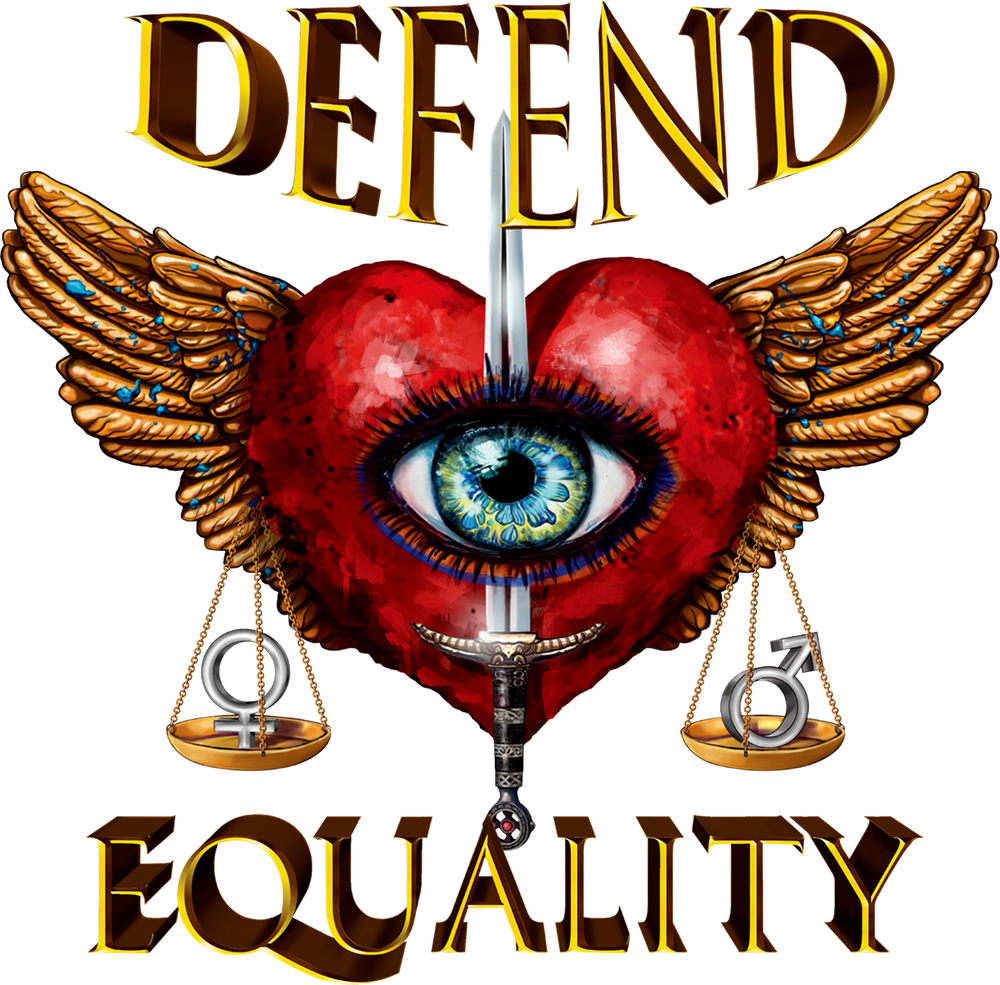 Defend Equality - Yellow Leopard Pattern