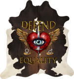 Defend Equality - Brown White Tri-Colour