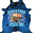 Never Ever Ever Give Up - Sapphire Blue Black Pepper