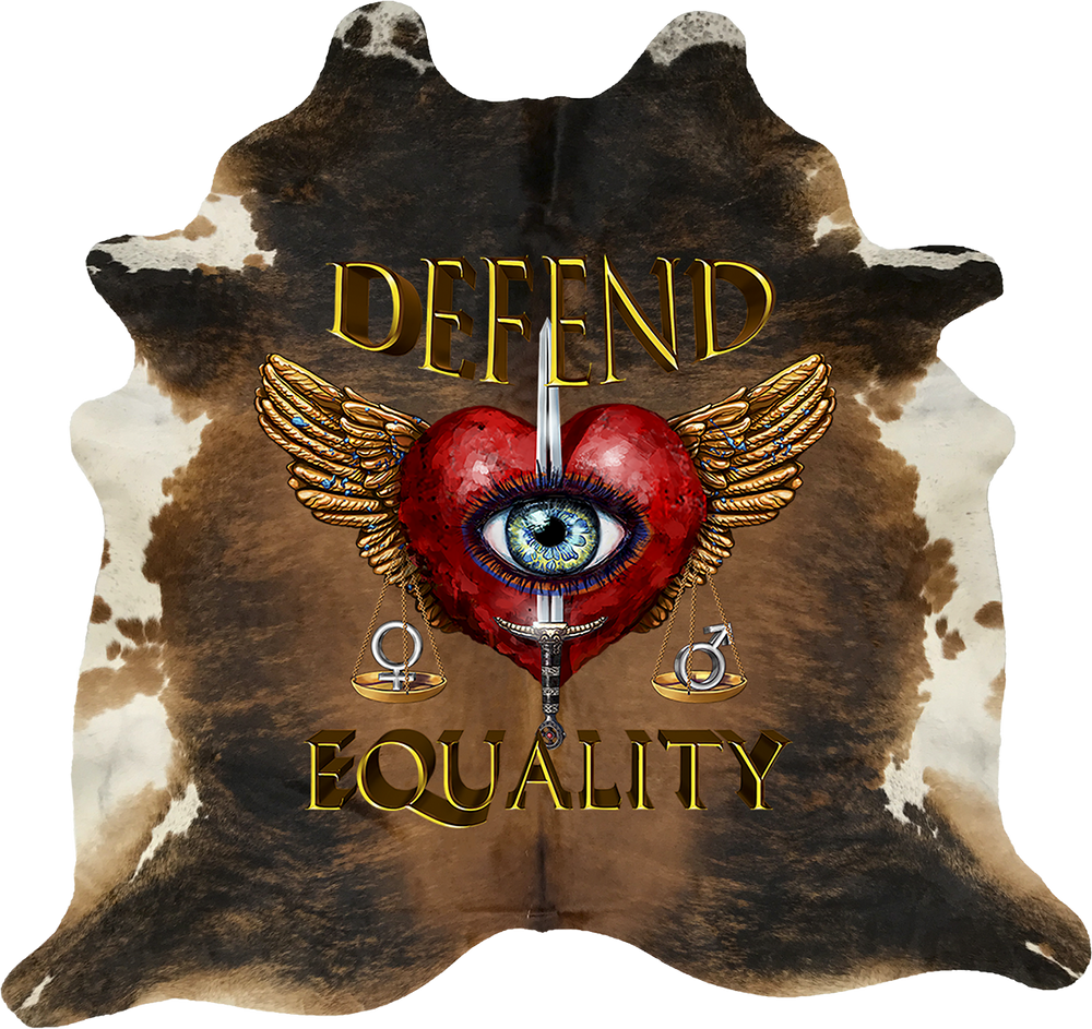 Defend Equality - Brown White Exotic Brindle
