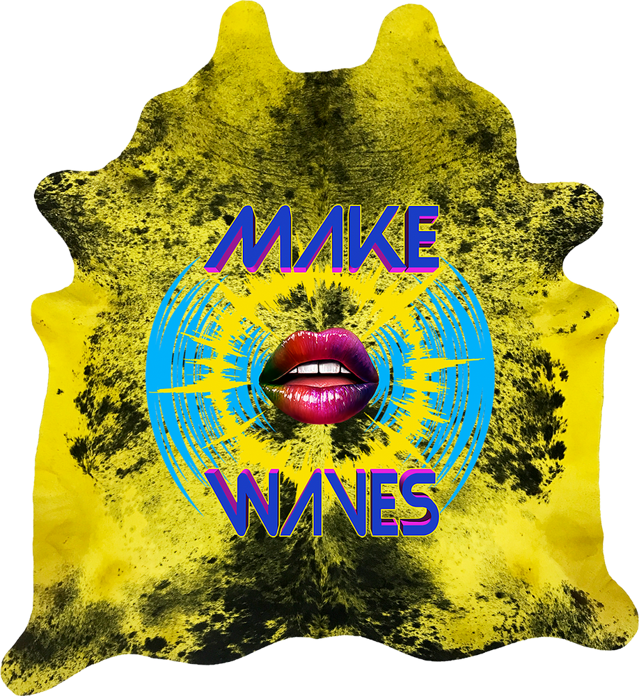 Make Waves - Yellow Black Pepper
