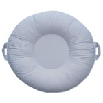 Serenity Light Gray Floor Pillow