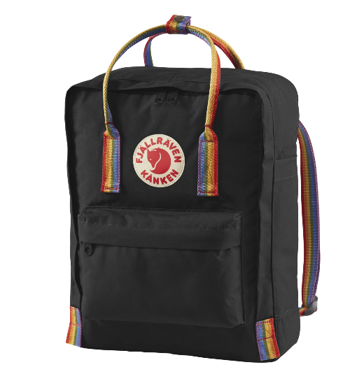 16L Rainbow Backpack Black