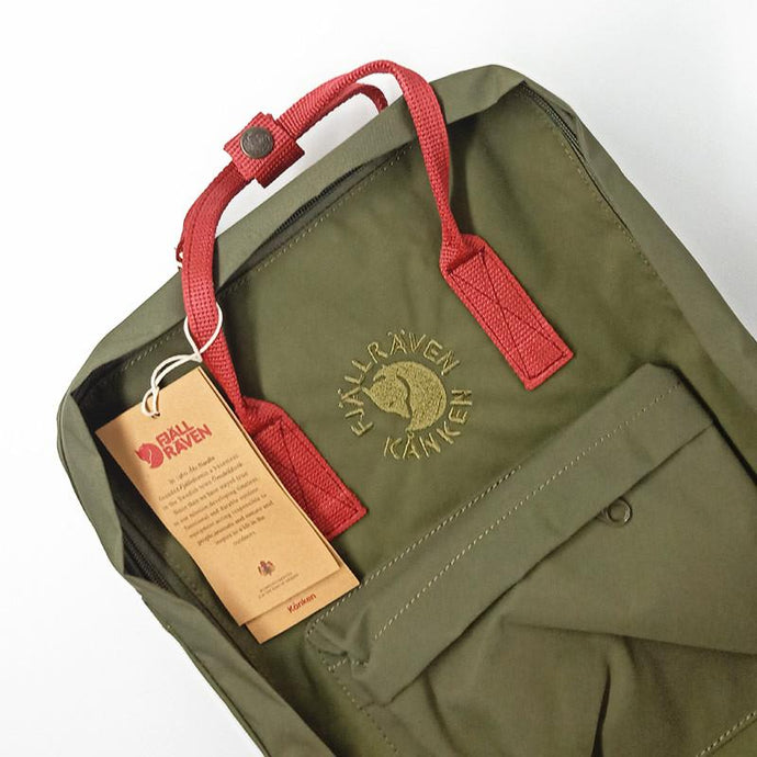 16L RE-Backpack - Green / Red