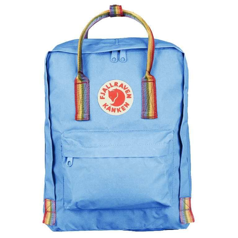 7/16/20L Rainbow Backpacks- Blue