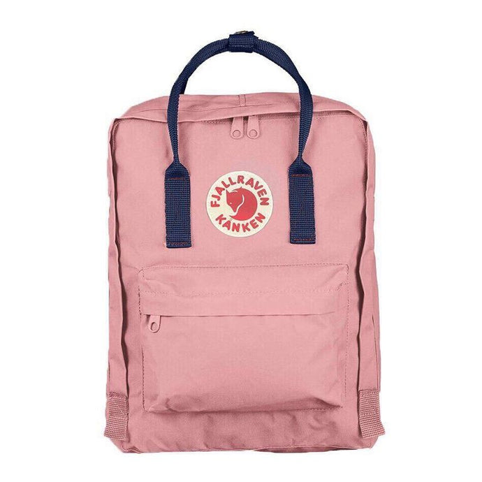 7/16/20 L Backpack School Bag Travel Pink / Deep Blue