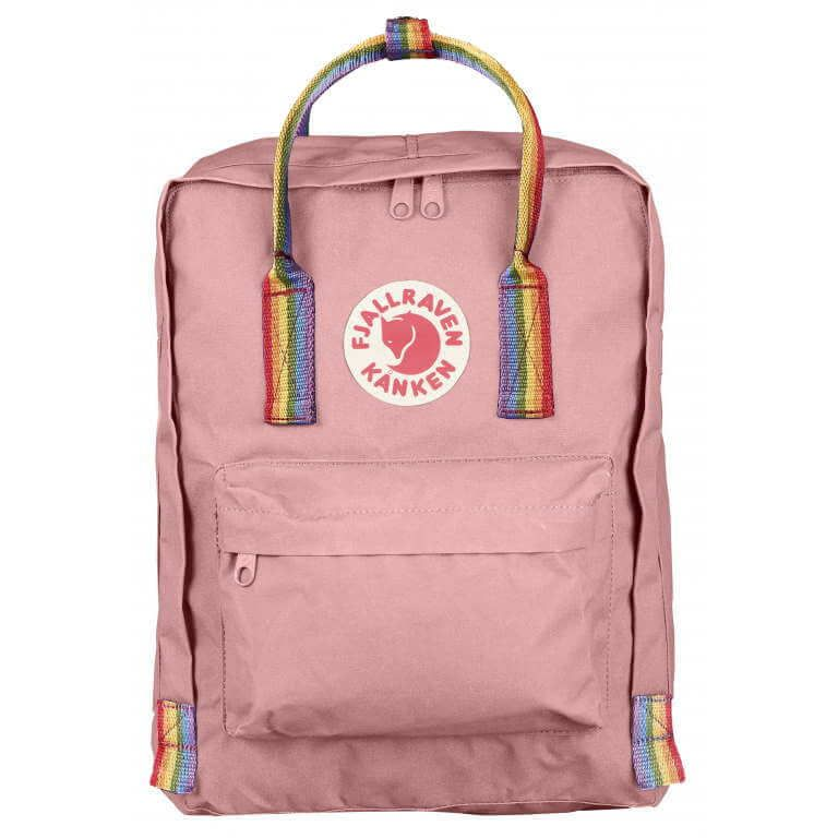 16L Rainbow Backpack Pink