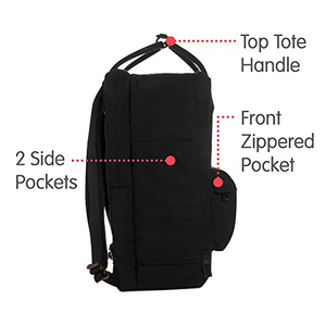 16L No. 2  Backpack for Everyday, Black