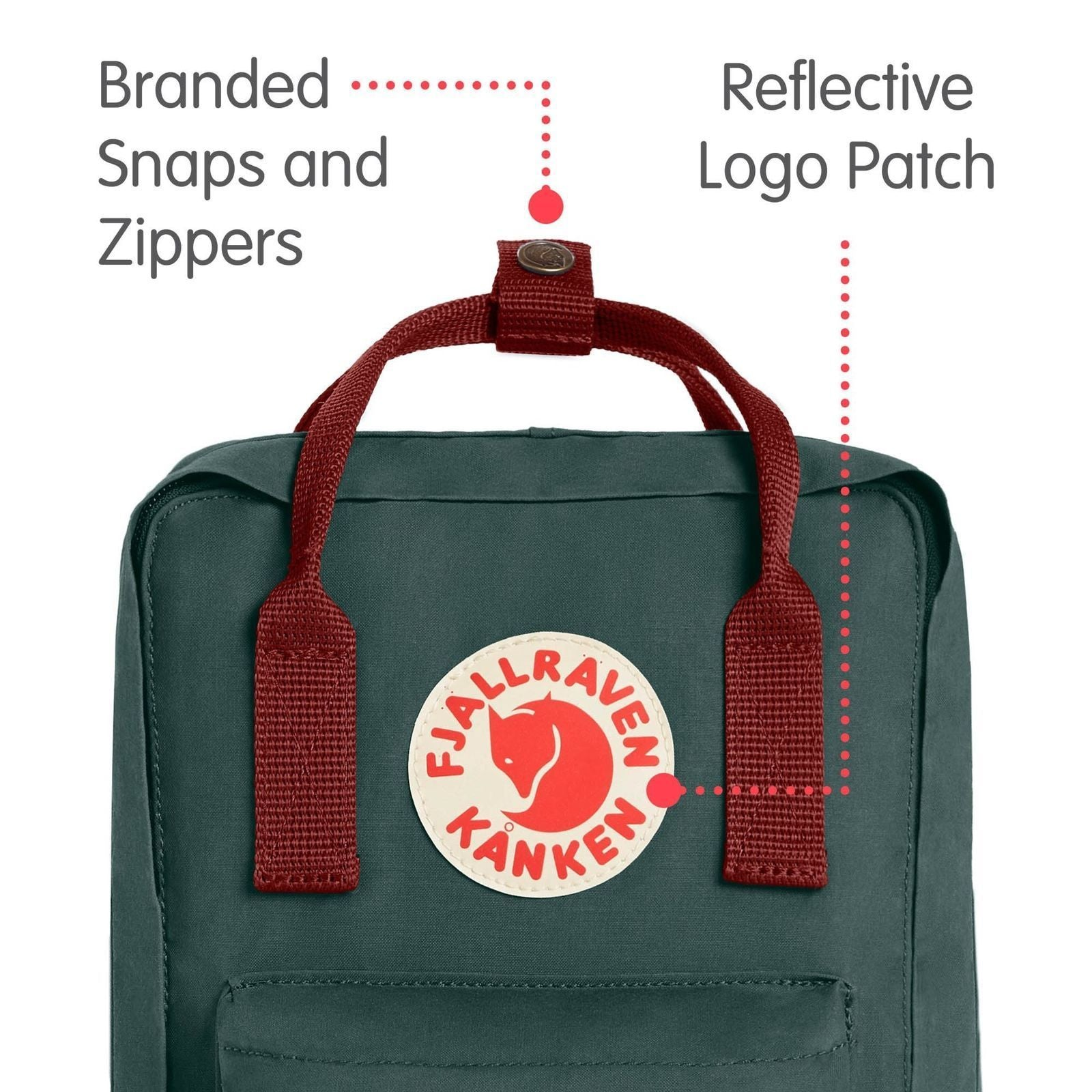 Heritage and Responsibility Since 1960 Kanken-Mini Classic Pack Fjallraven