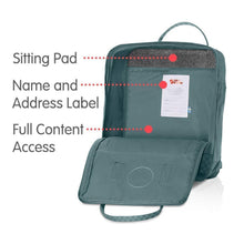 Load image into Gallery viewer, 7L/16L/ BackPack School Bag Travel Frost Green