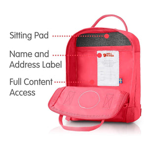 7L/Mini BackPack Brand School Bag Travel Peach Pink