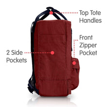 Load image into Gallery viewer, 7L/  Mini BackPack Brand School Bag Travel Ox Red/Royal Blue