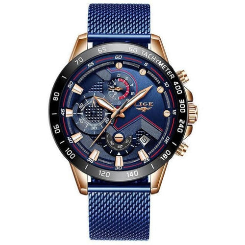 Racing Sport Watch - Men's Watch by LIGE - HANDS OV CHRONOS