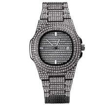Load image into Gallery viewer, Oblong 18K Micropave  - Men's Watch - HANDS OV CHRONOS