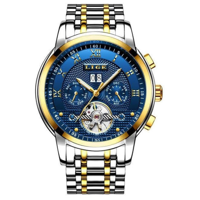 Tourbillon Gala - Men's watch by LIGE - HANDS OV CHRONOS